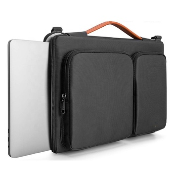 Custom Waterproof Fashion Messenger Computer bag Business 14 inch 15.6 inch Shoulder Laptop Briefcase bags