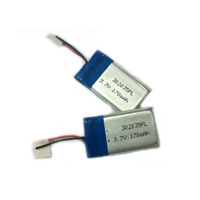 China Factory 302035 3.7V 170mAh Li Polymer Battery