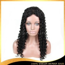 Factory Price Cheap Indian Hair Wig 100% Human Hair Full Lace Wigs With Baby Hair