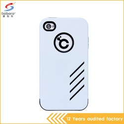 Guangzhou wholesale free sample silicone case for iphone 4