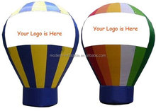 giant advertising inflatable balloon with logo printed