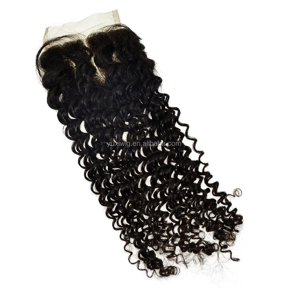 Brazilian Kinky Curly Lace Closure