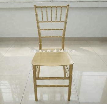 wholesale SPAIN MARKET plastic resin silla de tiffany chiavari wedding chair