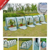 Portable Cloche Greenhouse Mini Green Hot Garden House