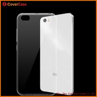 Common Transparent TPU material Smartphone Compatible mobile cover for xiaomi mi 5
