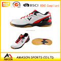 2018 latest badminton shoes men power cushion design and ergo shape sole professional indoor badminton shoes 002