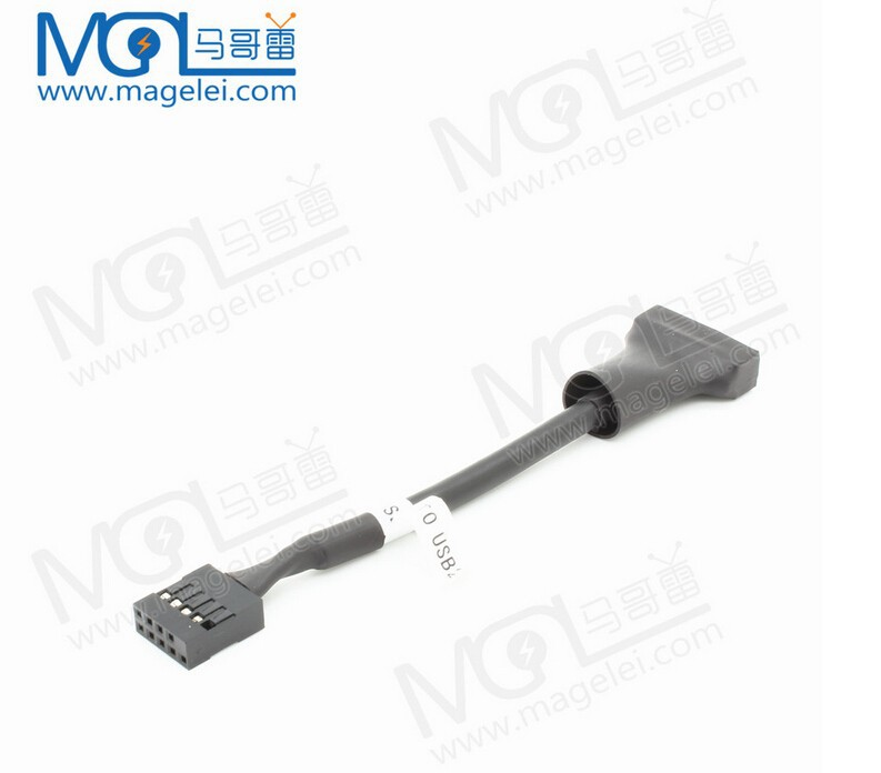 USB Motherboard Adapter Converter USB 3.0 20 Pin to USB 2.0 9 Pin male and Female Mainboard Cable Extension Cable