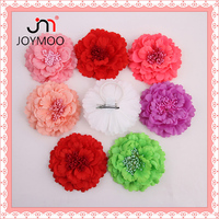 Wholesale Factory Fabric Handmade Multiple Colour Head Flower Corsage Home Decoration