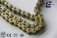 hot sale motorcycle chain 428H yellow