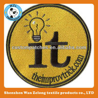 Latest Design Embroidery Patches/Embroidered Motifs Patches Emblem