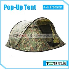 TOOTS Camouflage Pop Up Tent for 4-6 person