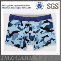 oem custom camo print boxer briefs for men low moq made in china