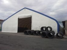 portable fabric cover warehouse/Steel frame Storage Buildings