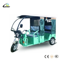 New Style Luxury Passenger Tricycle tvs electric auto rickshaw and Bajaj Ethiopia