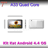 "shenzhen super slim tablet 7"" MID Allwinner A33 quad core 7"" tablet 4GB snart tablet"