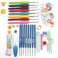 16sizes Crochet hooks Needles Stitches knitting Craft Case crochet set in Case