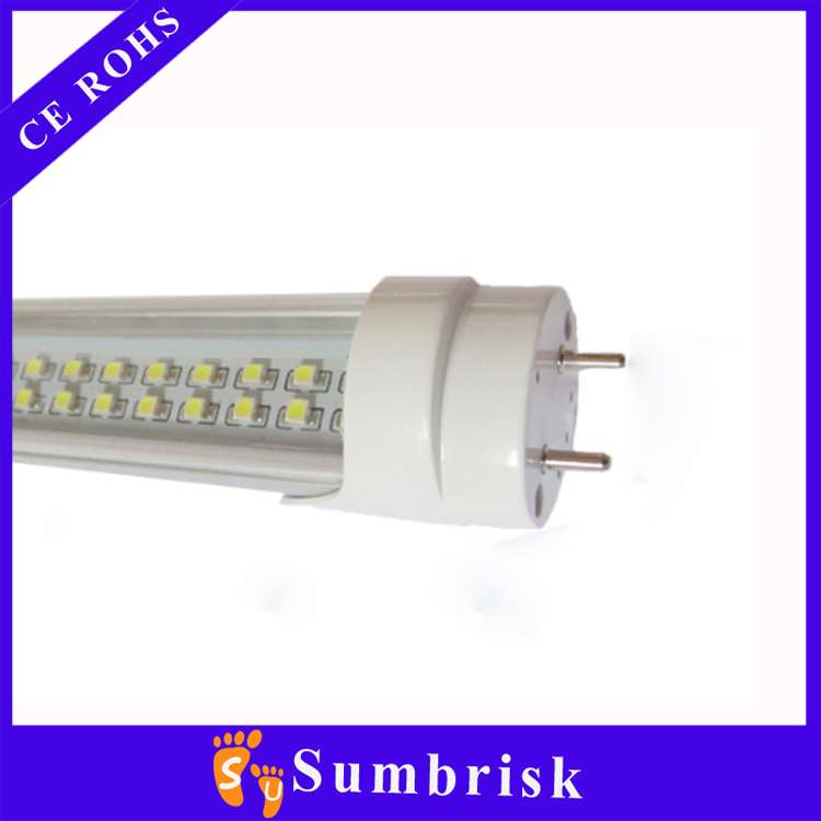 High brightness 2ft 4ft 5ft 6ft 360 degree SMD2835 AC85-265V 24w T5 t8 double sided led tube