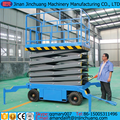 hydraulic trailing/trailer/towable scissor lift