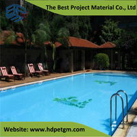 Swimming Pool HDPE Geomembrane Blue Pond Liner
