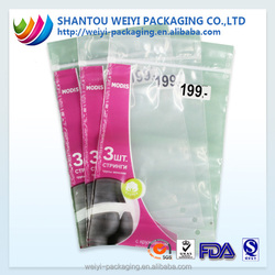 custom printed plastic t shirt packaging bags for clothing