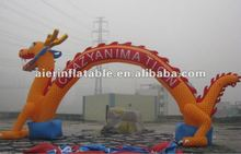 2013 new design Dragon Inflatable Advertising Arch