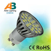 dimmable aluminum gu10 3.5w 12v spot light led