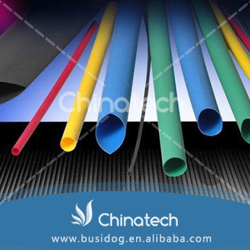 Hot sale 4:1 ratio insulation type 20mm colorful heat shrink tube