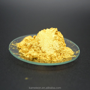 Cosmetics gold mica pearl pigment powder for makeup