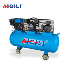 Hot on sale industrial double cylinder 2 stage 3hp 7.5kw 200 liter electric belt driven air compressor