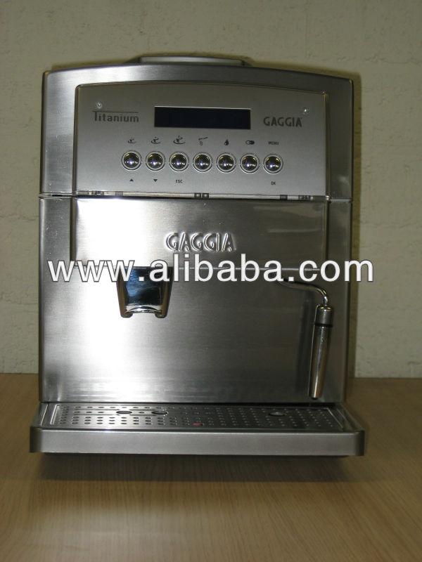 gaggia titanium automatic espresso machine