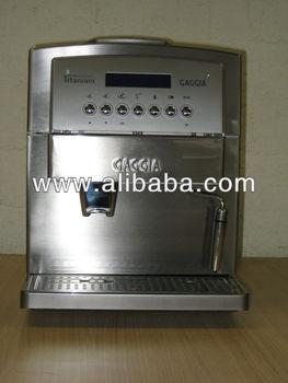 gaggia titanium fully automatic espresso machine buy. Black Bedroom Furniture Sets. Home Design Ideas