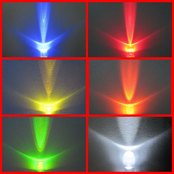 red yellow blue green white chip led 0805
