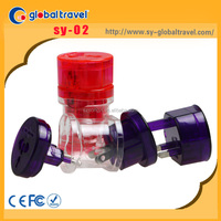 Promotional Gift Multi ac electric plug with CE ROHS FCC