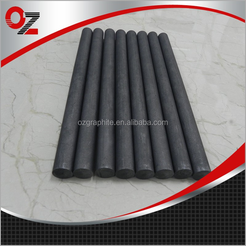 High density artificial graphite blank rod