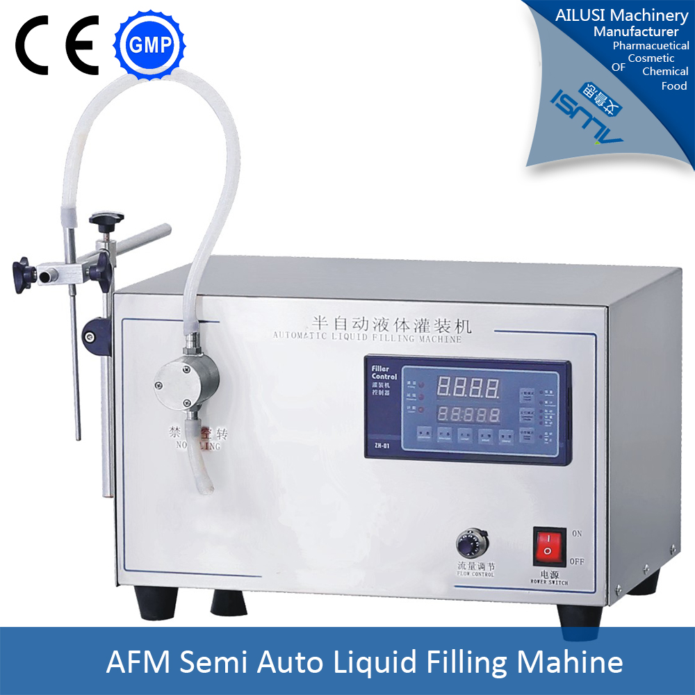 single/double nozzles small essential oil filling machine