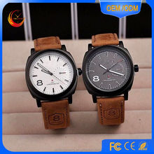 2015 wholesale High quality watches men Promotional gifts square shape case watch