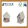 made in China handmade antique garden customized decoration small wooden bird cages