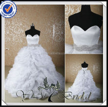 RSW526 Crystal Rhinestone Belt For China Custom Made Wedding Dresses Alibaba with ruffled organza bottom