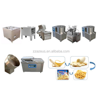 snacks food commercial and industrial best selling plantain banana chips processing plant