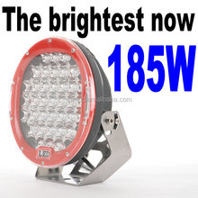 Factory direct 4x4 Atv Truck Lamp 4WD 9Inch 185W Led Round Spot Driving Light Spotlights for car Offroad