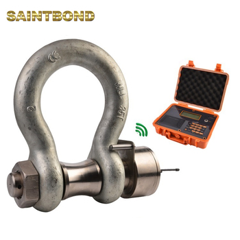 Heavy Duty D ring Shackle Bolts Load Cell 4.75t Shackle