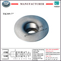 chinese manufacturer idler parts steel stamped TK309-177 bearing chock for roller pipe size 7""