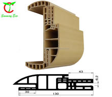 WPC door frame/wpc door casing/waterproof pvc door frame OEM ODM welcome (TCF-130C SET)