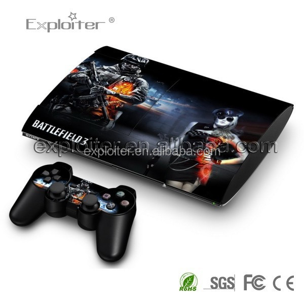 Economic best sell skin for ps3 slim skin guard