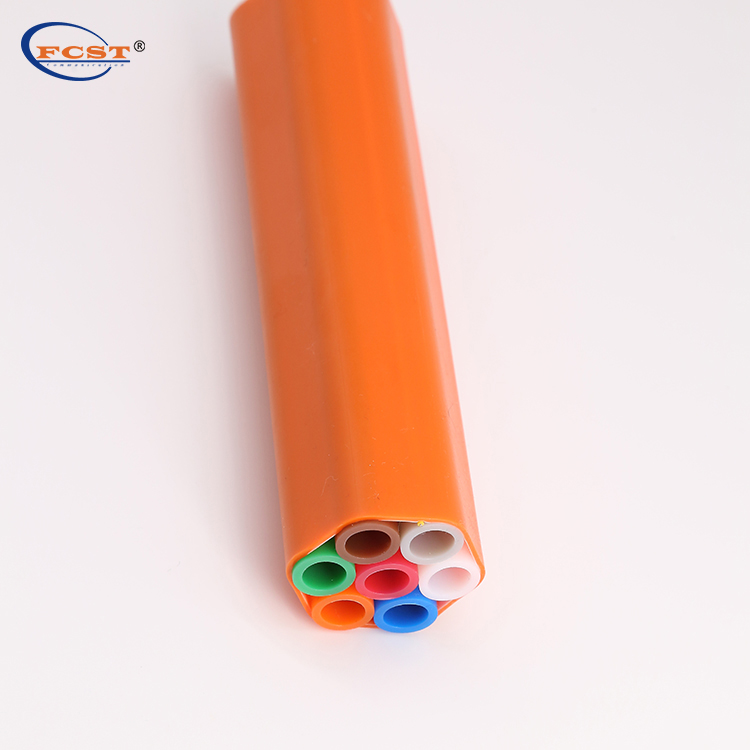 HDPE Pipe Micro Duct 7ways 10/8mm for Underground Fiber Optic Cable