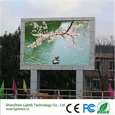 Power Saving outdoor HD video China p8 LED moving message display/LED for rental advertisement