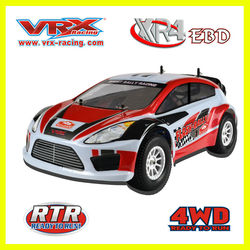 RiverHobby 1/10 scale 4wd Rally Nitro RC Car with Petrol engine