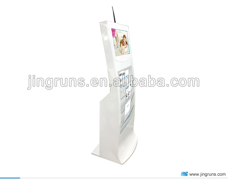 "21.5"" full hd 1080p magazine newspaper usb lcd advertising player"