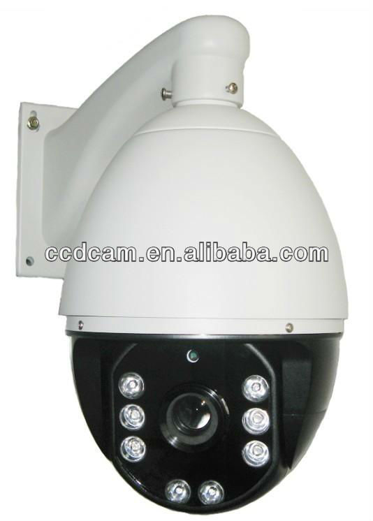 auto zoom cctv cameras ip67 auto tracking 22x ptz camera waterproof vandalproof high sp IR led irradiation distance of 80 meters