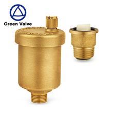 Green-GutenTop Steam Brass Radiator Air Vent Safety Valve For Boiler